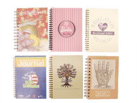 poly, clear-poly, die-cut, journals, notepad, leather